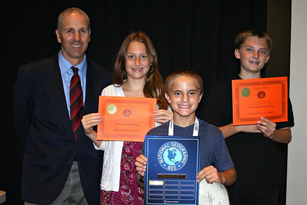 EHMS Top Three Geo Bee 2016.jpg